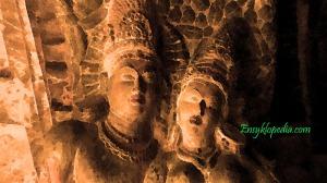 Sculpture-Showing-Kunala-and-Kanchanmala